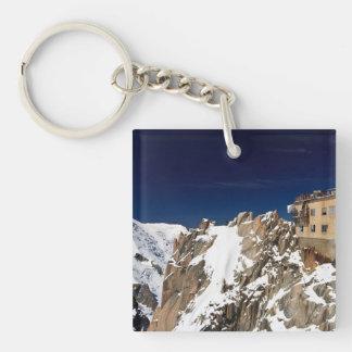 Aiguille du Midi -  Mont Blanc Massif Keychain