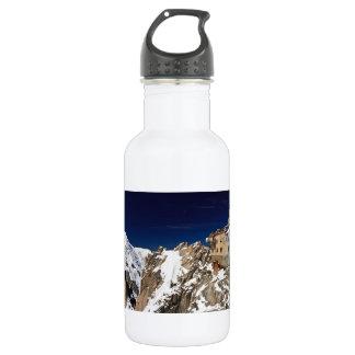 Aiguille du Midi -  Mont Blanc Massif Stainless Steel Water Bottle