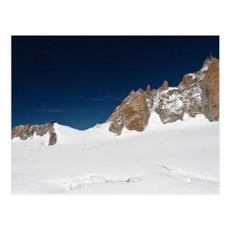 Aiguille du Midi - Mont Blanc Postcard