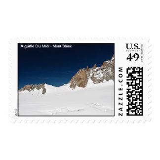 Aiguille du Midi - Mont Blanc Sellos