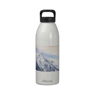 Aiguille du Midi panorámico Botella De Beber