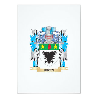 Aiken Coat Of Arms 5x7 Paper Invitation Card