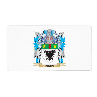 Aiken Coat Of Arms Custom Shipping Label