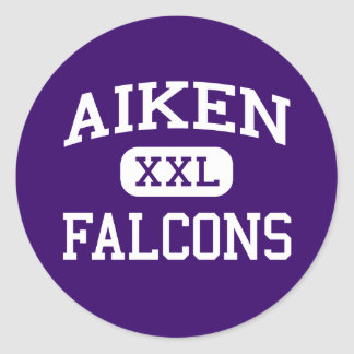 Aiken - Falcons - High School - Cincinnati Ohio Classic Round Sticker