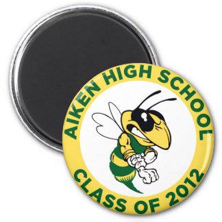 Aiken High 2 Inch Round Magnet