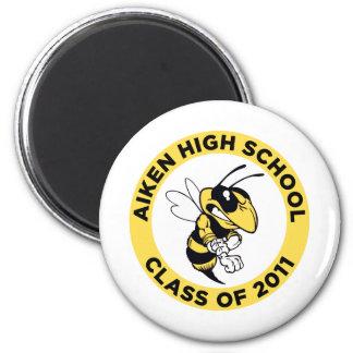 Aiken High School 2 Inch Round Magnet