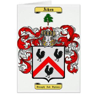 Aiken Tarjeta De Felicitación