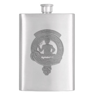 Aikenhead Clan Badge Classic Flask