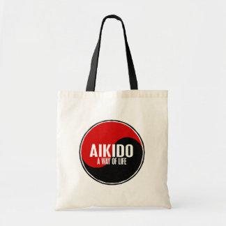 Aikido 1 de Yin Yang Bolsas Lienzo