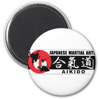 Aikido 2 2 inch round magnet