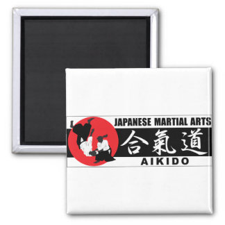 Aikido 2 2 inch square magnet