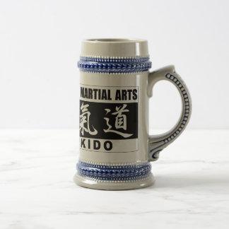 Aikido 2 beer stein