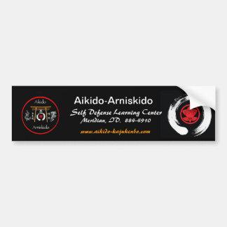 Aikido-Arniskido Pegatina De Parachoque