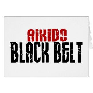 Aikido Black Belt Cards
