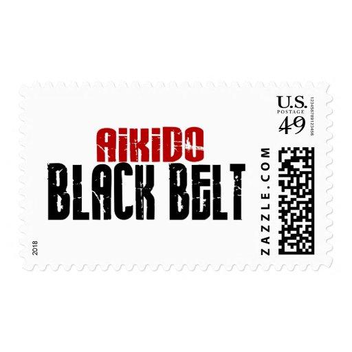Aikido Black Belt Stamps