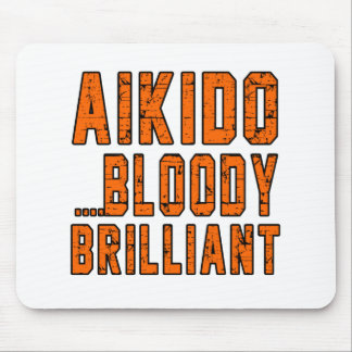 Aikido Bloody brilliant Mouse Pads