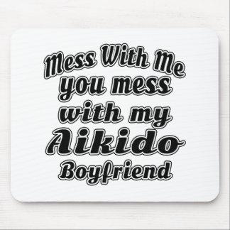 Aikido Boyfriend Designs Mouse Pads