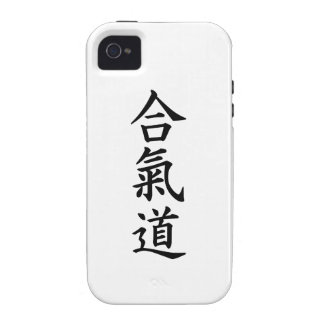 Aikido chinese signs iPhone 4 cases