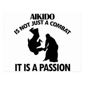 Aikido Designs Postcard