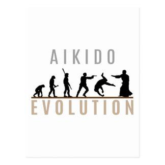 Aikido Evolution Postcard