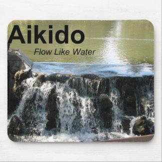 Aikido Flow Like Water Mousepad