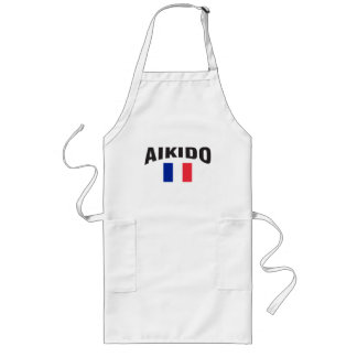 Aikido France French Flag Long Apron
