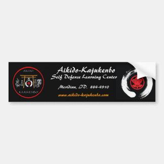 Aikido-Kajukenbo 2 Bumper Sticker