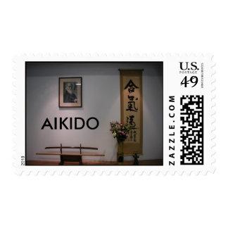 Aikido Kamiza Stamp