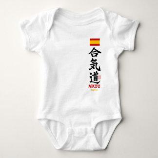 Aikido Kanji Spain Infant Creeper