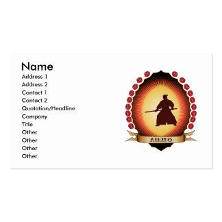 Aikido Mandorla Business Card Template