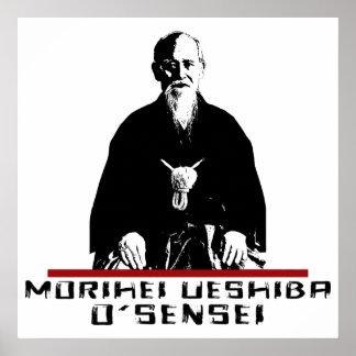 Morihei Ueshiba... O Sensei Morihei Ueshiba