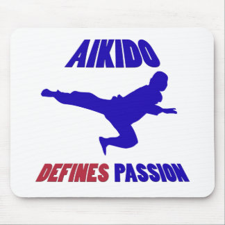 aikido my passion mouse pads
