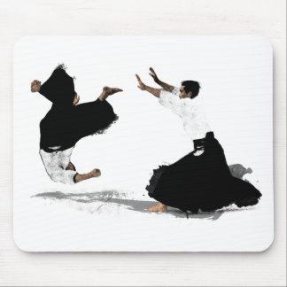 Aikido nage mousepad