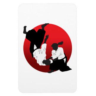 Aikido Rectangular Photo Magnet