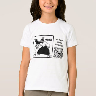 AIKIDO- SCAN THE QR CODE. A NEW LESSON EVERY DAY! T-Shirt