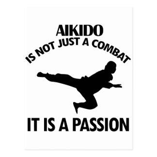 AIKIDO sports designs Postcard