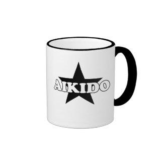Aikido Star Ringer Mug