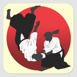Aikido Square Sticker