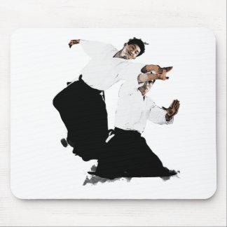 Aikido suwari mousepad