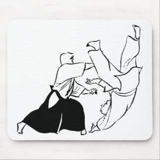 Aikido techniques mouse pad