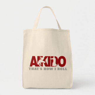 Aikido Thats How I Roll Tote Bag