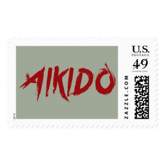 Aikido Timbre Postal