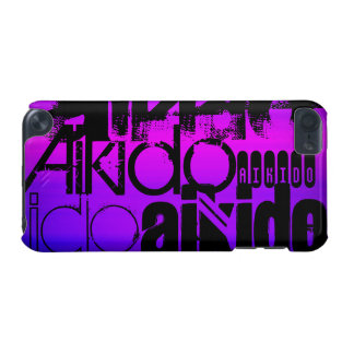 Aikido; Vibrant Violet Blue and Magenta iPod Touch 5G Case