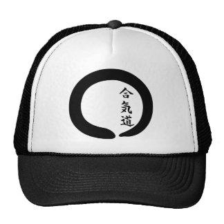 Aikido Zen Circle Mesh Hat