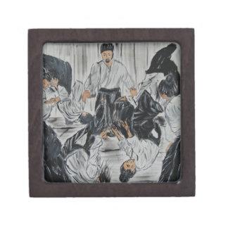 """aikijutsu""""Aikijutsu"""" Artwork by Carter L. Shepard Gift Box"""