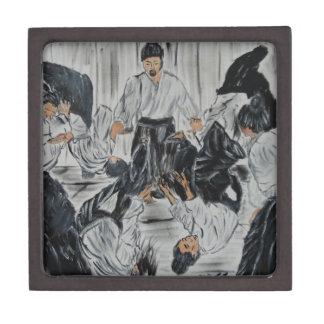 "aikijutsu""Aikijutsu"" Artwork by Carter L. Shepard Jewelry Box"