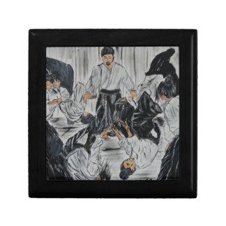 """aikijutsu""""Aikijutsu"""" Artwork by Carter L. Shepard Keepsake Box"""