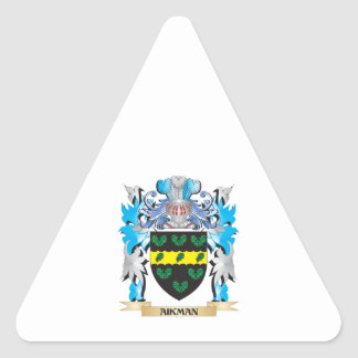 Aikman Coat Of Arms Stickers