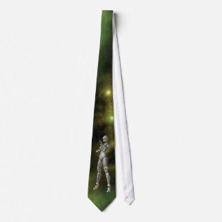 aikobot & stars neck tie