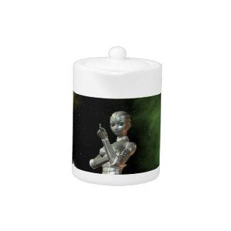 aikobot & stars teapot
